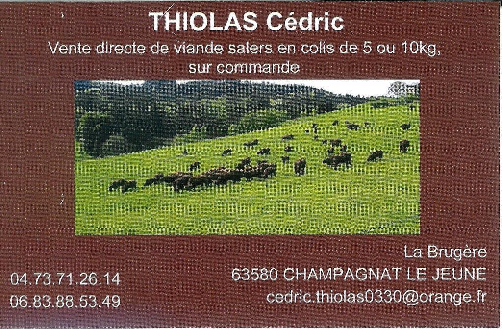 Thiolas Cédric
